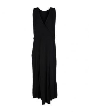 Длинное платье ISABEL BENENATO. Цвет: черный