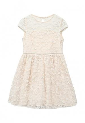 Платье Molly Rou. Цвет: бежевый