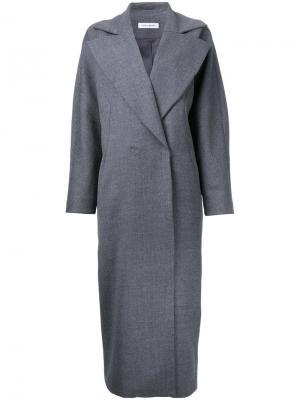 Пальто Aviator Bianca Spender. Цвет: серый