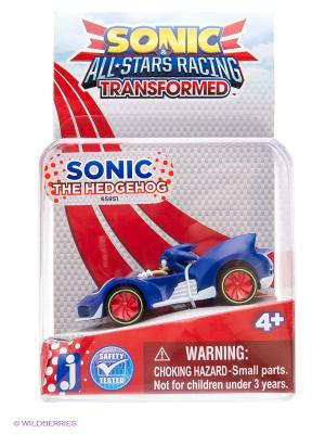 Фигурка Соник в машине - Sonic All Stars Racing 2 4см. Цвет: синий