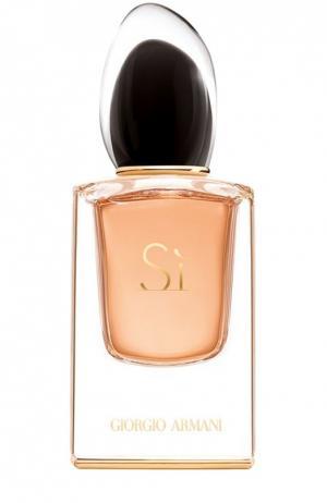 Парфюмерная вода Si Le Parfum Giorgio Armani. Цвет: бесцветный