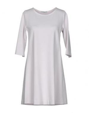 Короткое платье CIRCOLO 1901. Цвет: светло-розовый