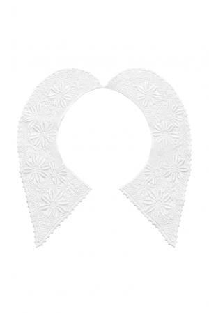 Кружевной воротник 143337 Plauener Spitze. Цвет: белый