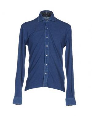 Pубашка DELLA CIANA. Цвет: грифельно-синий