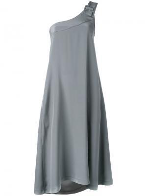 Платье Asy Chic Société Anonyme. Цвет: серый