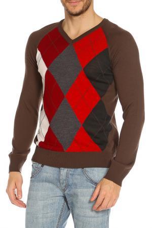 Пуловер Strellson. Цвет: коричневый
