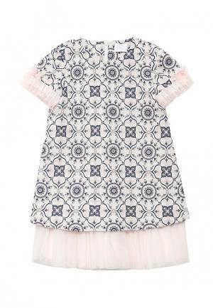Платье Sly. Цвет: разноцветный