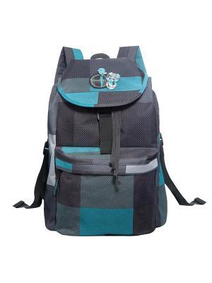Рюкзак Grizzly. Цвет: серо-голубой