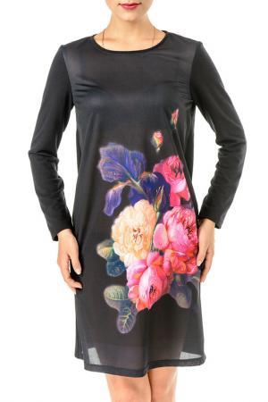 Платье Олмис. Цвет: черный