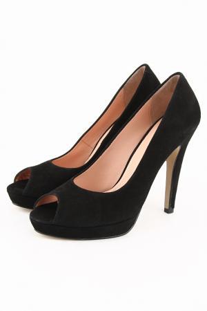 Туфли DELANO. Цвет: черный