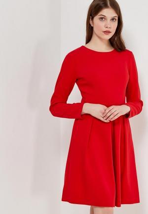 Платье Echo. Цвет: красный