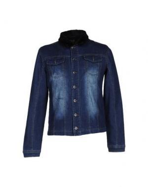 Джинсовая верхняя одежда YES ZEE BY ESSENZA. Цвет: синий