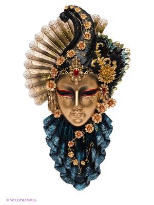 Венецианская маска Рубин Veronese. Цвет: бронзовый, синий