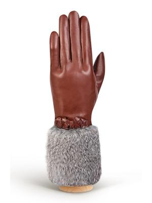 Перчатки Eleganzza. Цвет: серый, коричневый, рыжий