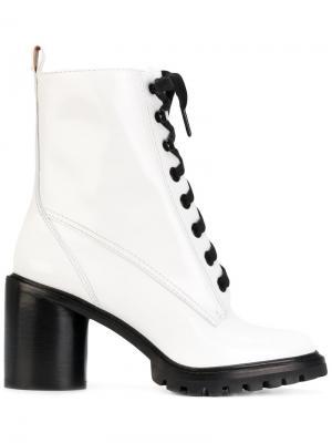 Ботинки на шнуровке Marc Jacobs. Цвет: чёрный
