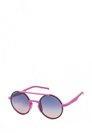 Очки солнцезащитные Polaroid. Цвет: розовый