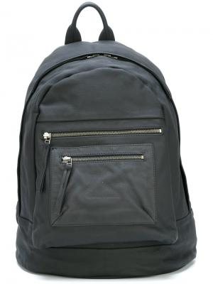 Рюкзак на молнии Barbara I Gongini. Цвет: чёрный