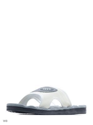 Шлепанцы Effa. Цвет: серый, белый