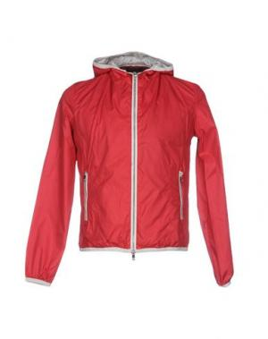 Куртка CIESSE PIUMINI. Цвет: кирпично-красный