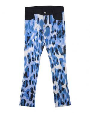 Джинсовые брюки PHILIPP PLEIN. Цвет: сиреневый