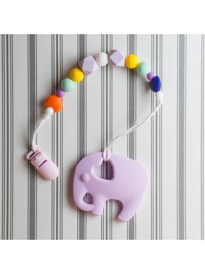 Игрушки-подвески Краски лета. Цвет: лиловый, белый, желтый