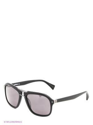 Солнцезащитные очки BLD 1421 103 Baldinini. Цвет: черный