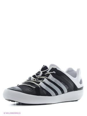 Кроссовки climacool BOAT BREE Adidas. Цвет: черный