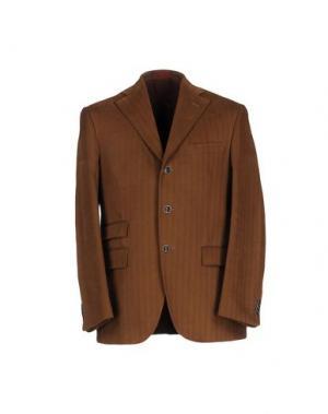 Пиджак ANGELO NARDELLI. Цвет: коричневый