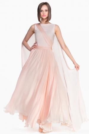 Платье из шелка 132164 Lolita Shonidi. Цвет: розовый