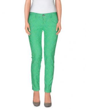 Повседневные брюки BASICON. Цвет: кислотно-зеленый