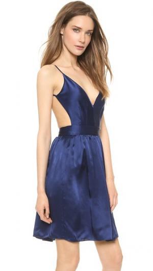 Мини платье Babs Bibb ONE by Contrarian. Цвет: голубой