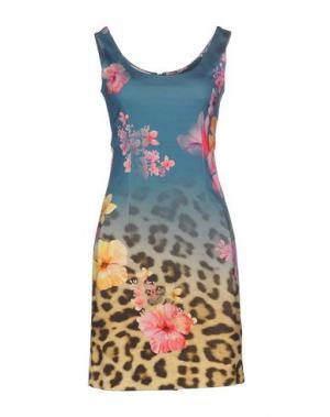 Короткое платье EAN 13. Цвет: грифельно-синий