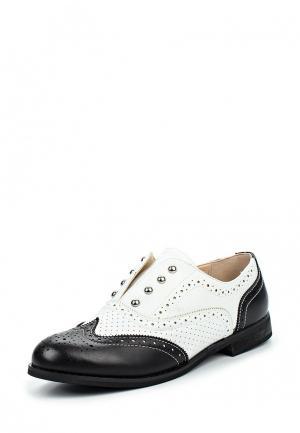 Ботинки Damerose. Цвет: черно-белый