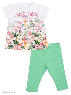 Комплект MANAI. Цвет: зеленый, розовый, белый