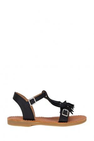 Кожаные сандалии Shwik. Цвет: черный