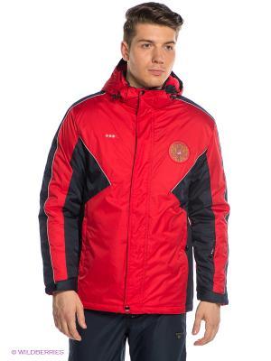 Куртка ADDIC. Цвет: красный