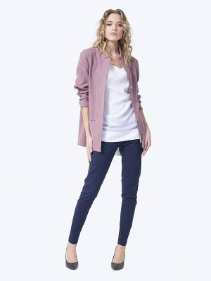 Жакет LO. Цвет: сиреневый, бледно-розовый