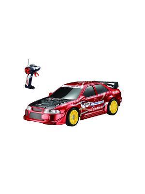Машина на батарейках AULDEY. Цвет: красный, желтый, черный