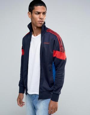 Adidas Originals Спортивная куртка CLR84 AZ0279. Цвет: синий
