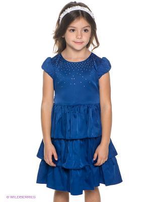 Платье PlayToday. Цвет: синий
