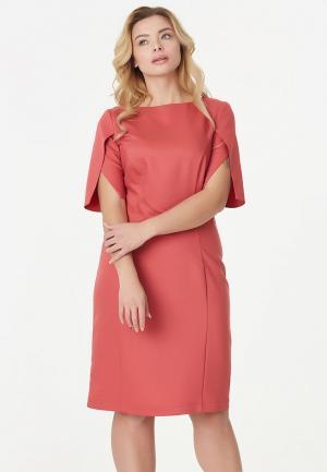 Платье Fly. Цвет: коралловый