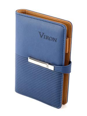 Ежедневник VIRON. Цвет: синий