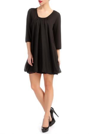 Платье LESARA. Цвет: черный
