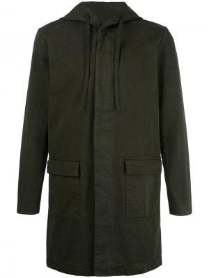 Куртка Mathieu Harmony Paris. Цвет: зелёный