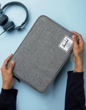 Herschel Supply Co Темно-серый чехол для ноутбука и iPad Pro Anchor 13. Цвет: серый