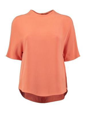 Блуза Joseph. Цвет: оранжевый