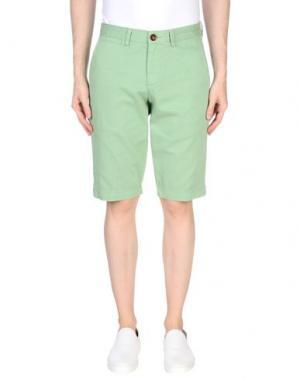 Бермуды WEB. Цвет: светло-зеленый