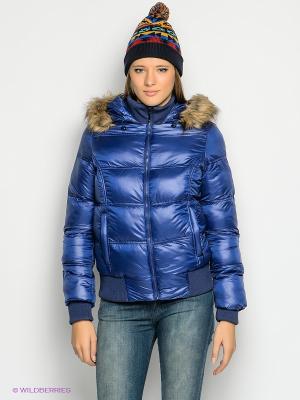Куртка Gaudi. Цвет: синий