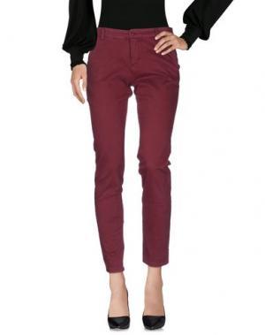 Повседневные брюки MICHAEL FORPUS. Цвет: пурпурный