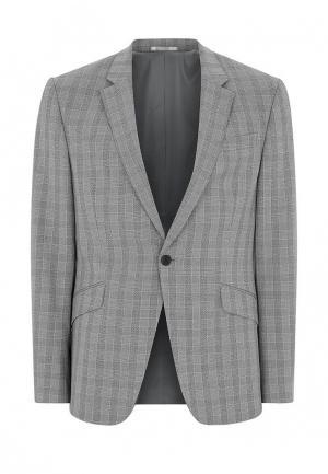Пиджак Topman. Цвет: серый